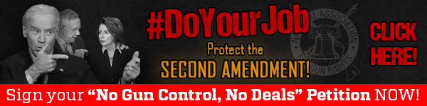 Click here to sign your No Gun Control, No Deals petition!