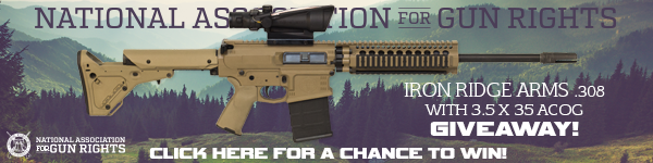 Click here to win an Iron Ridge Arms rifle package!